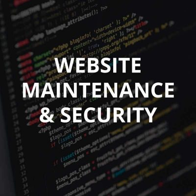 Website Hosting & Maintenance